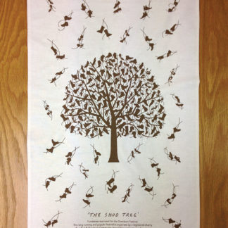 Shoe Tree Tea Towel